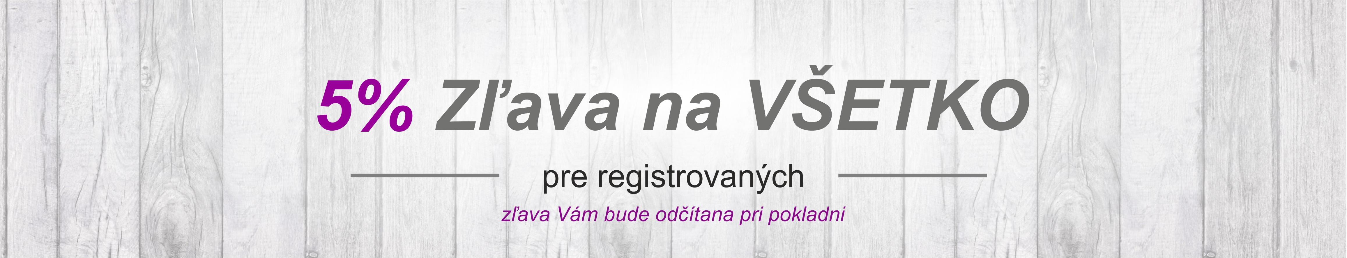 zľava pre registrovaných zákazníkov. Eshop nazehlovaciefolie.sk